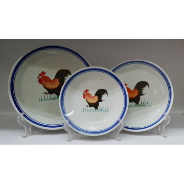 [Rooster] Plate